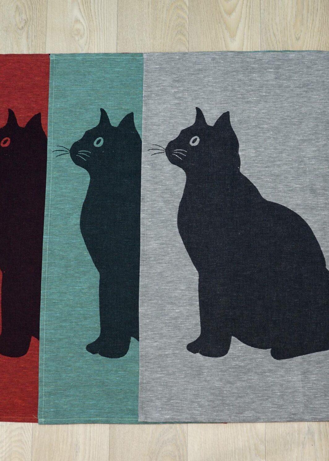 Geschirr-Tücher Katzenmotiv